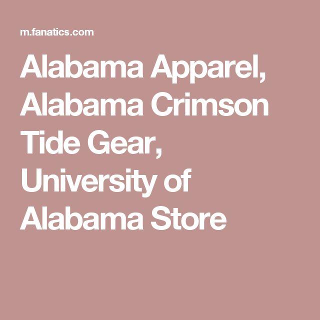 Alabama Apparel, Alabama Crimson Tide Gear, University of Alabama Store