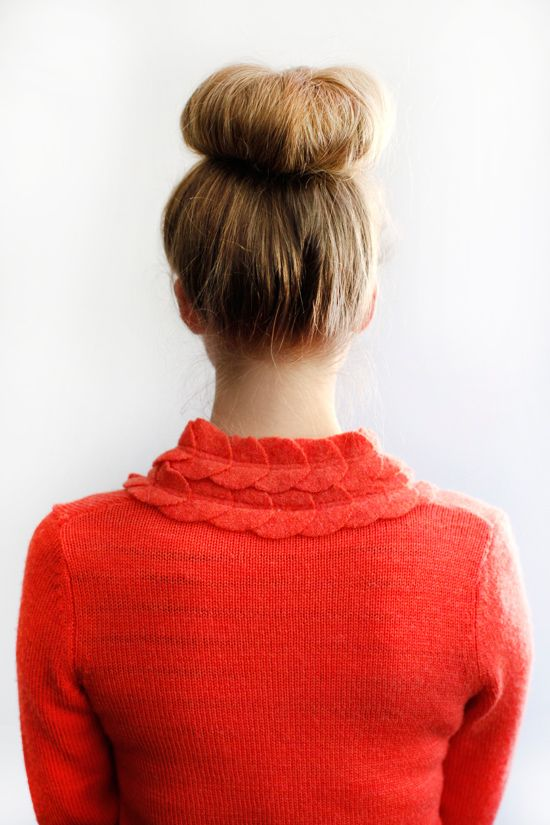 one of our favorite diy tutorials the infamous sock bun. http://www.weddingchicks.com/2012/04/07/diy-sock-bun/