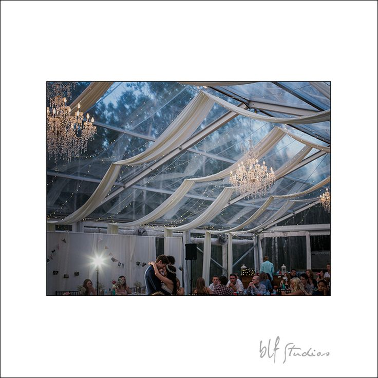 Beautiful clear ceiling tent wedding reception venue at Cielo's Garden just outside Steinbach, Manitoba. #winnipeg #reception #venue www.blfstudios.com