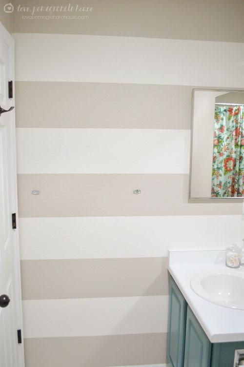 DIY Home :  DIY  Paint the Perfect Stripes