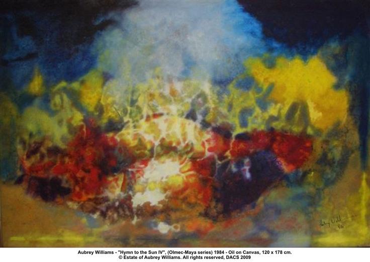 Aubrey Williams - 'Hymn to the Sun IV'