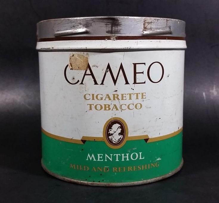 Vintage Rare Find Cameo Menthol Cigarette Tobacco Tin no Lid https://treasurevalleyantiques.com/products/vintage-rare-find-cameo-menthol-cigarette-tobacco-tin-no-lid #Vintage #Rare #Cameo #Menthol #Cigarettes #Tobacco #Tobacciana #Smokes #Smoking #Collectibles #VintageTins #Garage #ManCave #SheShed #Collectibles #MildandRefreshing #ImperialTobacco #Canada