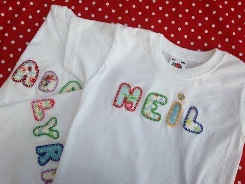Cómo personalizar camisetas para niños o bebés - YouTube
