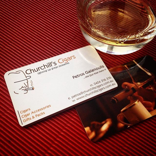 Flashback Design: Logo design & business cards #cigars #logodesign #logodesigner #graphicdesigner #corporateidentity #businesscarddesign #2sidedbusinesscard #logos #flashbackdesign #logo #unlockyourbusiness #lookprofessional #businesscards #churchill