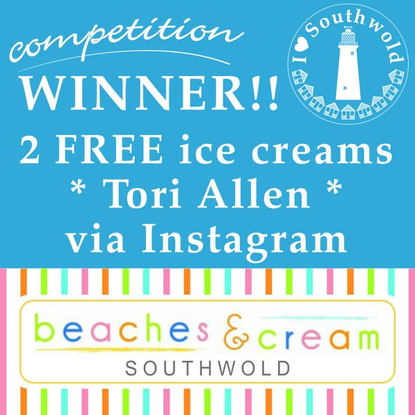 Competition is now closed... all entries submitted were entered into an online random choice generator.... and the winner is Tori Allen who entered via Instagram. Congratulations Tori!! If you didn't win this time look out for further competitions for more chances to win Southwold goodies :D xxx
