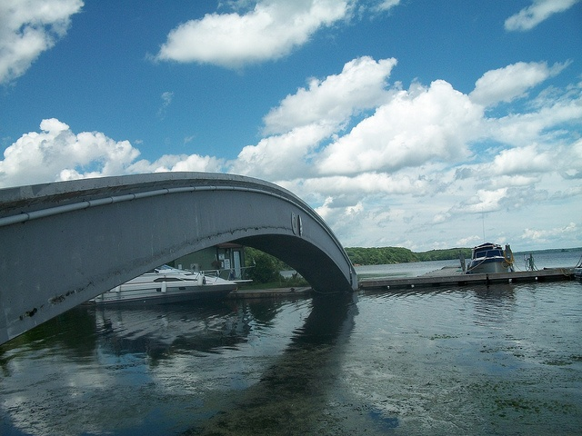 Westport, Ontario - Rainbow Bridge - The Spring - Harbour