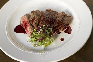 Skirt Steak with Homemade Chipotle Lime Ketchup - Tina Ruggiero | Nutrition Expert