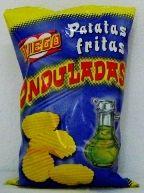 #patatas fritas onduladas, #patatas fritas rizadas