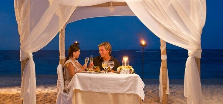 Iberostar Grand Hotel Bavaro Dominican Republic - Dining on the beach