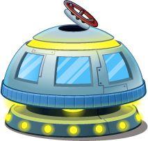 space ship, not a rocket ship
