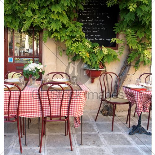 french bistro design | French Cafe · GL Stock Images