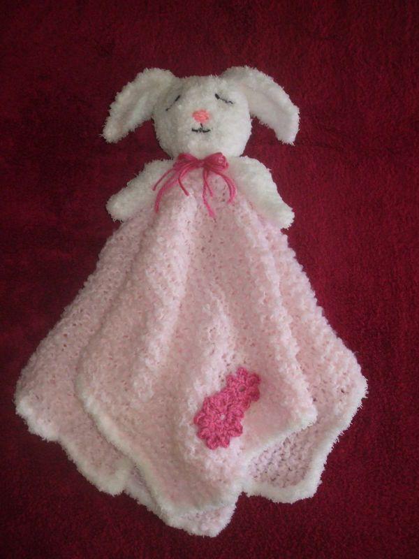 Bunny Blanket Buddy Knit Pattern Gallery - knitting patterns free ...
