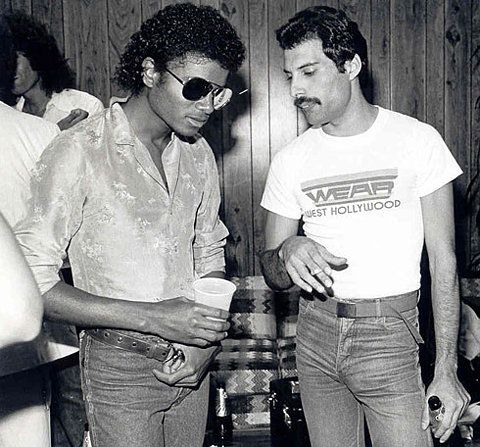 The greatest singer of all time. And Michael Jackson.
