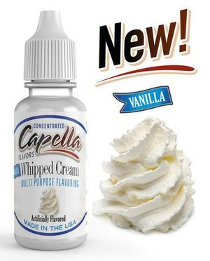 Original Bottle Vanilla Whipped Cream Flavor Concentrate 13ml UK