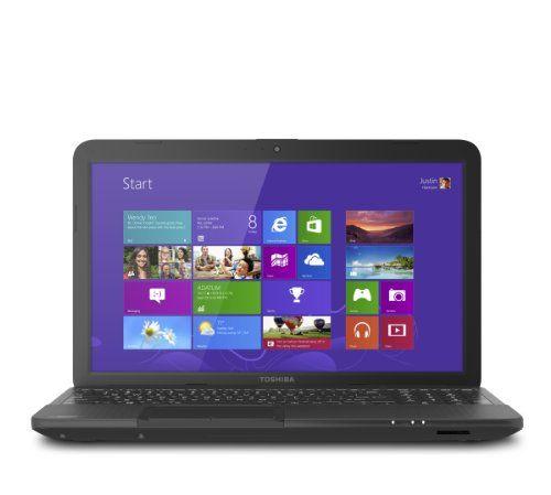 Toshiba Satellite C855-S5137 15.6-Inch Laptop (Satin Black Trax)