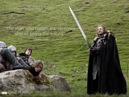 Good ole Ned Stark