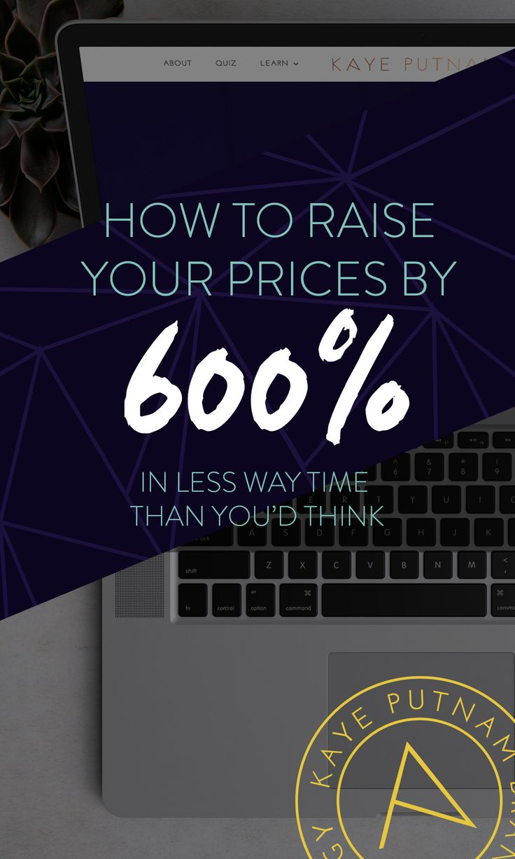 How to raise your prices by 600% (That's over 7x!) - If you're an entrepreneur who is busy with client work but not meeting your income goals, it's time to look at your pricing.