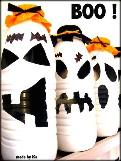 BOO-teilles de LAIDS © made by iSa  # Halloween
