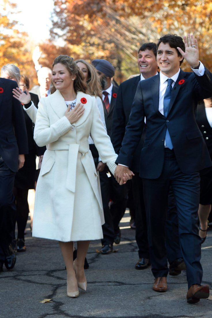 Sophie Grégoire-Trudeau Was Styled By Jessica Mulroney For The Swearing-In Ceremony