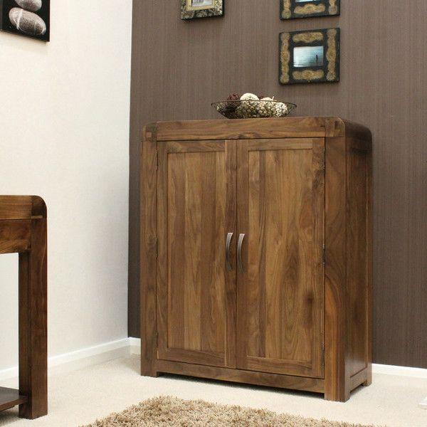 strathmore solid walnut furniture shoe cupboard cabinet. shiro solid walnut shoe cupboard strathmore furniture cabinet