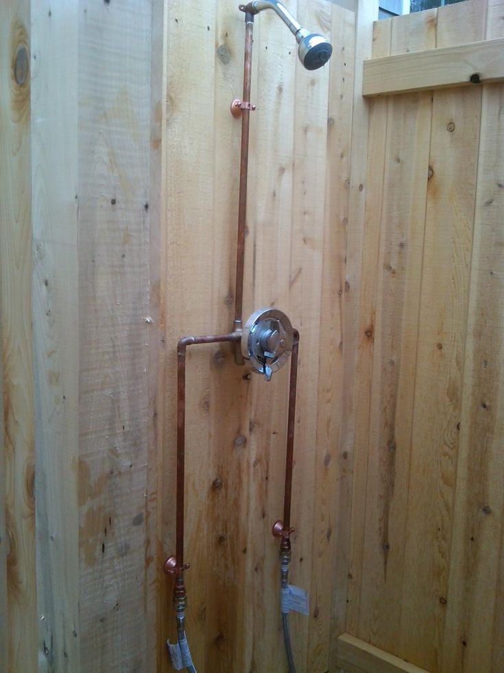 1000 ideas about outdoor shower kits on pinterest