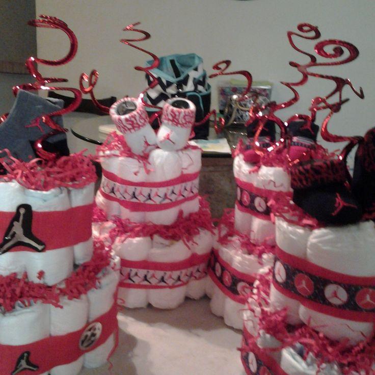 jordan baby shower decor pinterest jordans babies and showers