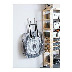 DIMPA Storage bag, clear $3.99 IKEA