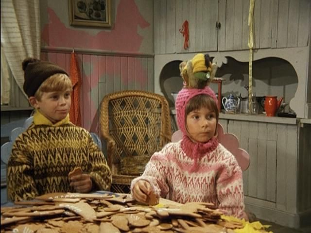 Tommy and Anikka - cookies with Pippi