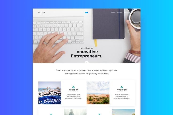 Business Web Page Template : Cerpow