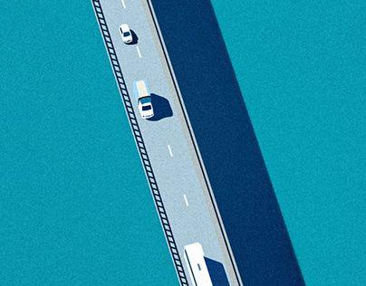 "Check out new work on my @Behance portfolio: ""bridge - illustration"" http://be.net/gallery/49695655/bridge-illustration"