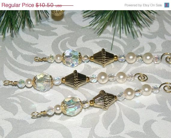 87 best Beaded ornaments images on Pinterest  Beaded christmas