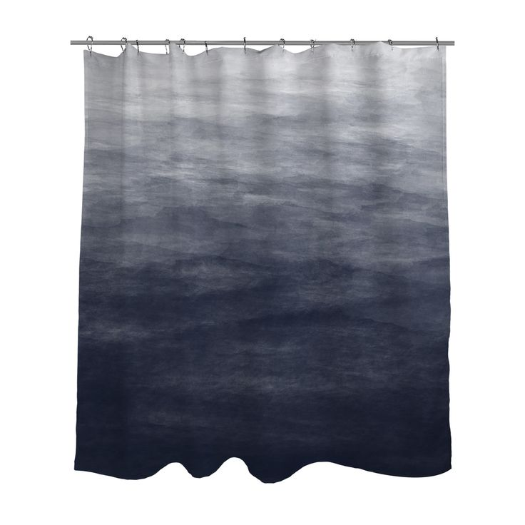 1000 ideas about grey ombre on pinterest black to grey for Do shower curtains come in different lengths