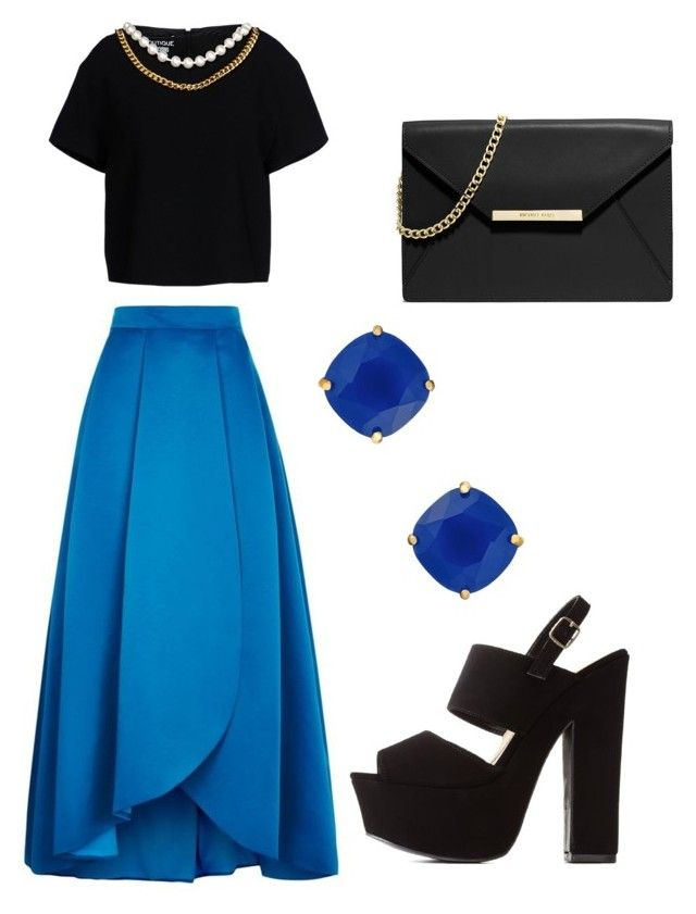 Untitled #6 by marce-castaneda on Polyvore featuring polyvore, fashion, style, Boutique Moschino, Pinko, Charlotte Russe, MICHAEL Michael Kors and Kate Spade