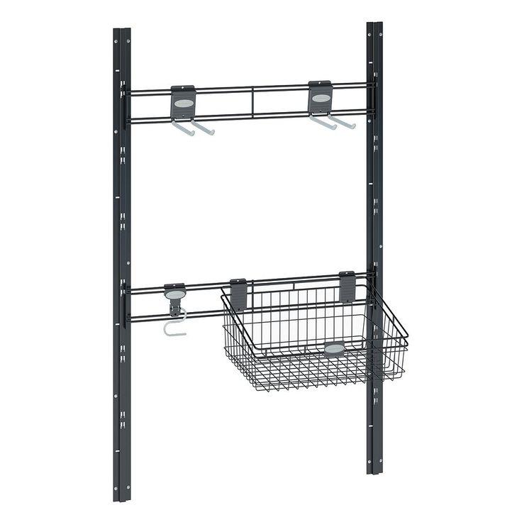 Suncast Sierra Shed Storage Kit, Black