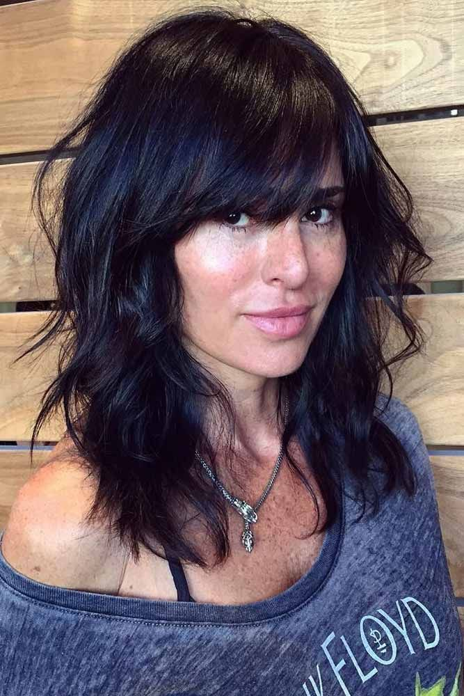 The 25 best medium hairstyles with bangs ideas on pinterest 36 ideas for medium length hairstyles with bangs urmus Gallery
