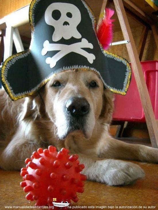 como hacer un gorro pirata