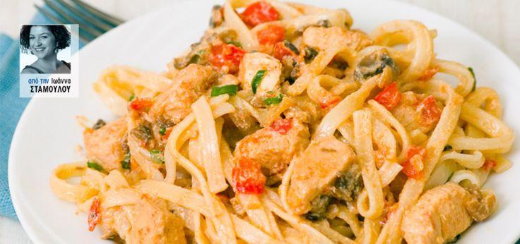 Ένα νόστιμο πιάτο που θα ετοιμάσετε στα γρήγορα μέσα σε 40 λεπτά το πολύ και θα χορτάσετε εύκολα 4-5 άτομα.