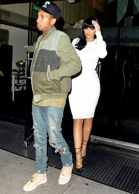 Kylie Jenner Goes From Low-Key Overalls to Sexy, Tight White Dress: See Her Day-to-Night Change-Up - http://www.hollywoodfame.com/kylie-jenner-goes-from-low-key-overalls-to-sexy-tight-white-dress-see-her-day-to-night-change-up.html