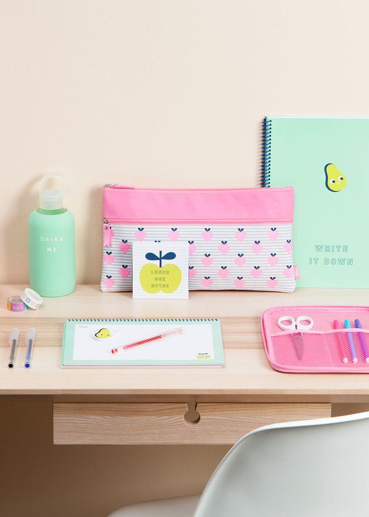 Back to School Stationery Essentials | Avocado Design | Strawberry Design