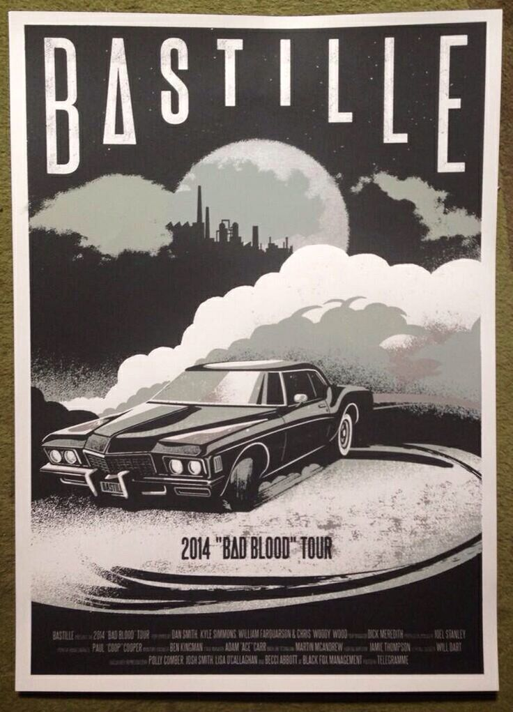 bastille band shop