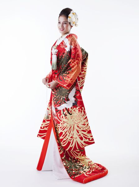Japanese KIMONO for wedding