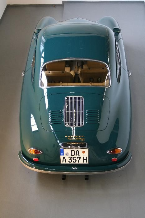 1966 Porsche 356 T2-A Coupé.. my cousin Horacio's car.. saw it in 1978.. it was metallic gold with very wide tires