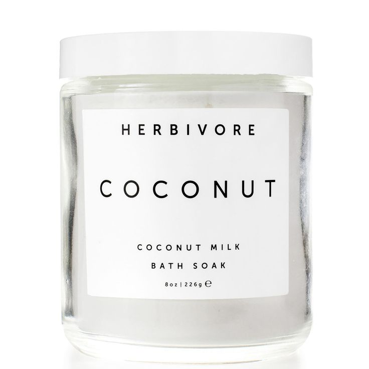 Bathing in skin-softening organic coconut milk has got to be one of the more appealingly indulgent ideas anyone's had in a long time.