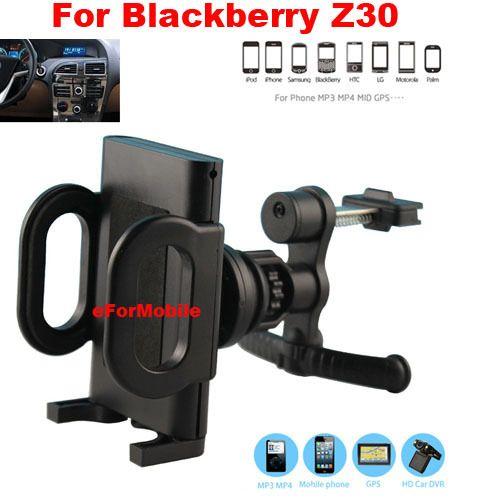 Автомобильный держатель вентиляционное отверстие мобильный телефон автомобильный держатель вращающийся держатель мобильный телефон подставка для Blackberry Z30