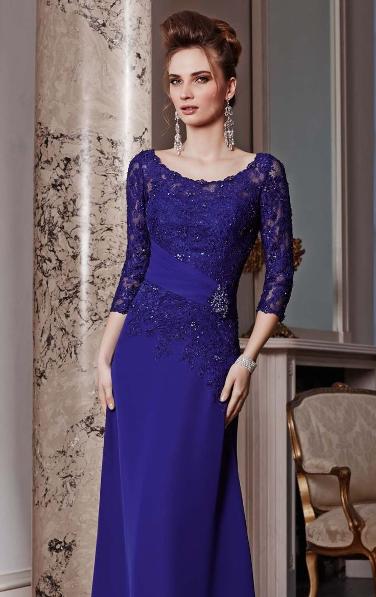 latest designer evening gowns with sleeves - Google Search