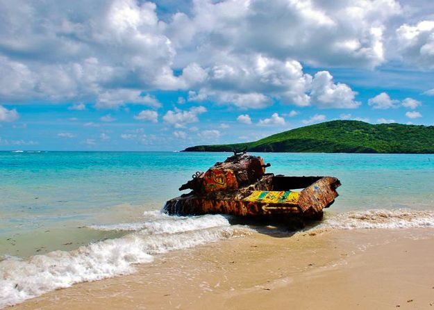 Favorite Things to do In Pueto Rico : Culebra Island | A small island off the coast of Puerto Rico featuring the most beautiful beach in the Caribbean. | TheNoshery.com - @TheNoshery