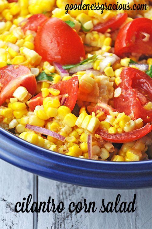 Cilantro Corn Salad - We LOVE this recipe!