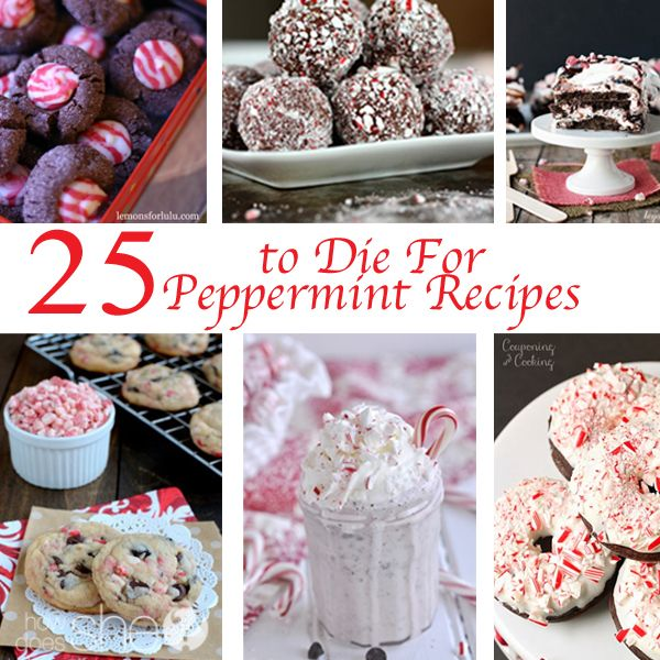 Have you started your holiday baking yet?  I haven't yet but it's on the to do list. If you love Peppermint Desserts you've come to the right place!  (Funny how I always post about my current obsessions!  Ha!) Enjoy! 1. Easy 3 Ingredient Frozen Peppermint Pie.  YUM!  2. Peppermint Bark Puppy Chow.  The treat everyone will love! …