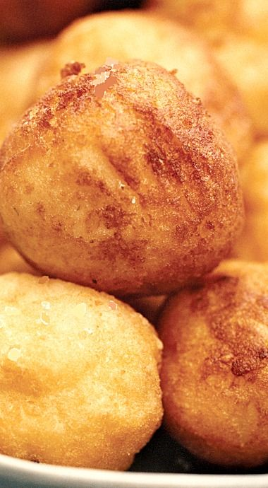 Crispy, Creamy Potato Puffs