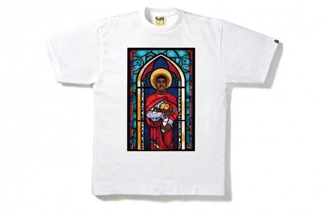 "A$AP Ferg x BAPE ""Trap Lord"" T-Shirt"